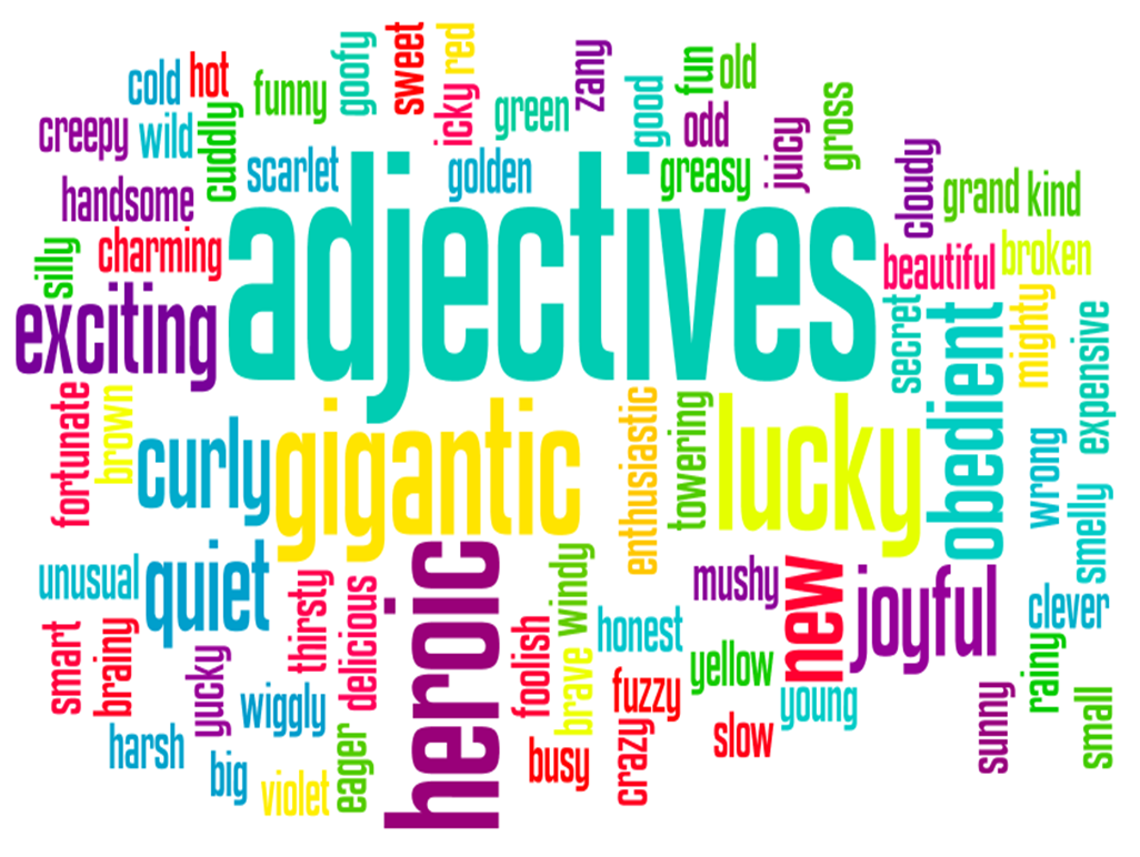 killing adjectives no harm spilt adjectives