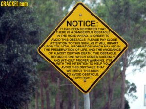 wordy sign