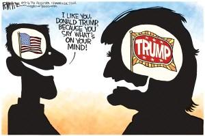 Trump on his mind